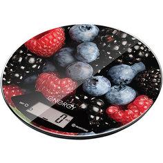 Весы кухонные электронные EN-403, Energy, ягодный