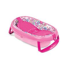Ванночка складная 09365A , Summer Infant, розовый