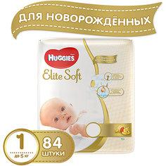 Подгузники Huggies Elite Soft 1, до 5кг, 84 шт.