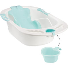 "Ванна детская ""Bath Comfort"", Happy Baby, аквамарин"