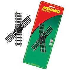 Перекресток для железной дороги Mehano, 45˚