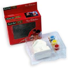 Набор для детского творчества, домик, 3 краски, коробка с окошком 6.8x4.3x8.5см Mag2000