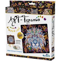 "Арт-терапия. Мозаика-алмазные узоры  ""Белый лев"" арт. 03217 Origami"