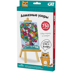 "Чудо-тв.™ Мозаика-алмазные узоры ""Sweet cat's home"" арт. 03213 Origami"