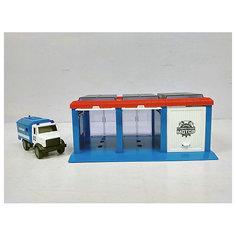 """Гараж Пламенный мотор """"Полиция"""", 1 машинка"""