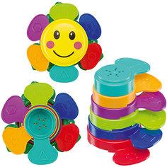 "Пирамидка для ванны Happy Baby ""Flower Puzzle"""
