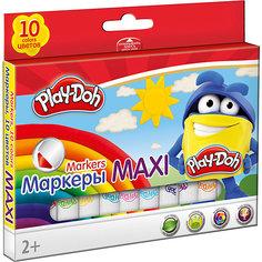 """Фломастеры Mega Jumbo Академия Групп """"Play-Doh"""" укороченные, 10 цветов"""