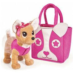 "Мягкая игрушка Simba Chi-Сhi Love Собачка ""Модница"" с сумочкой, 20 см"