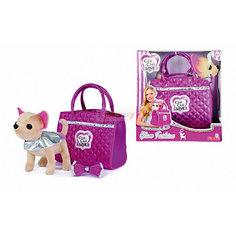 "Мягкая игрушка Simba Chi-Сhi Love Собачка Чихуахуа ""Гламур"" с сумочкой, 20 см"
