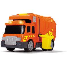 Машинка Dickie Мусоровоз со светом и звуком, 15 см Simba