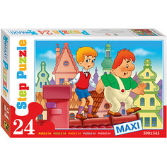 "Пазл Maxi Step Puzzle ""Опасная прогулка"", 24 элемента"