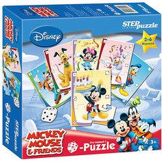 """Пазл-игра Step Puzzle Кубик-Puzzle """"Disney Микки Маус"""""""