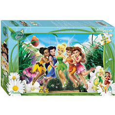 "Пазл Maxi Step Puzzle ""Disney Феи"", 24 элемента"
