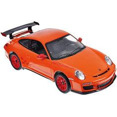 """Радиоуправляемая машинка Rastar """"Porsche GT3 RS"""" 1:14, оранжевая"""