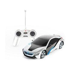 """Радиоуправляемая машинка Rastar """"BMW I8"""" 1:24, серебристая"""