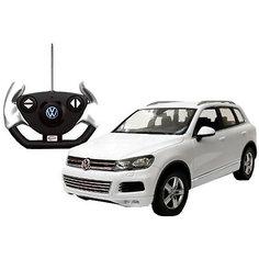 """Радиоуправляемая машинка Rastar """"Volkswagen Touareg"""" 1:14, белая"""