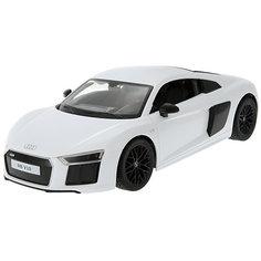 """Радиоуправляемая машинка Rastar """"Audi R8 V10 2015 Version"""" 1:14, белая"""