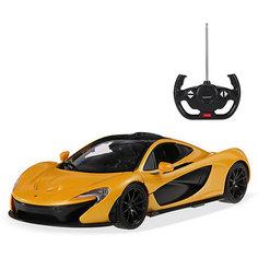"""Радиоуправляемая машинка Rastar """"McLaren P1"""" 1:14, желтая"""