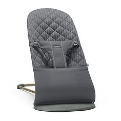 Кресло-шезлонг BabyBjorn Bouncer Bliss Cotton, серый