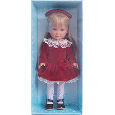 """Классическая кукла Vestida de Azul """"Весна Кембридж"""" Паулина блондинка с челкой, 33 см"""