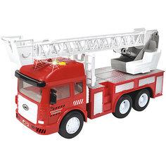 """Машинка Handers """"Городские службы"""" Пожарная машинка (свет, звук)"""