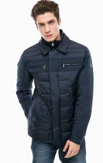 Демисезонная куртка синего цвета Navigare