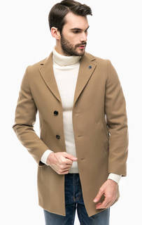 Классическое пальто коричневого цвета Liu Jo Uomo