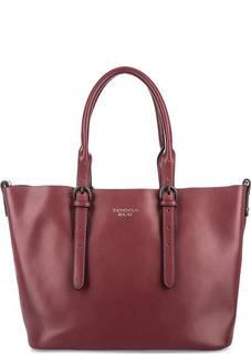Кожаная сумка со съемным отделением Tosca BLU