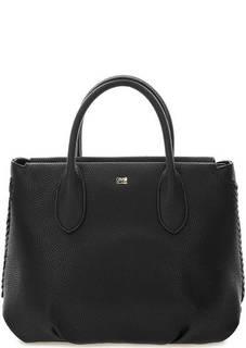 Черная сумка с одним отделом на молнии Cavalli Class