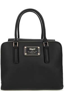 Черная сумка с короткими ручками Blugirl