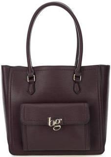 Бордовая сумка с длинными ручками Blugirl
