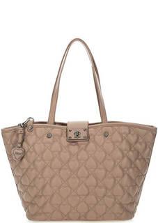 Стеганая сумка в форме трапеции Blugirl