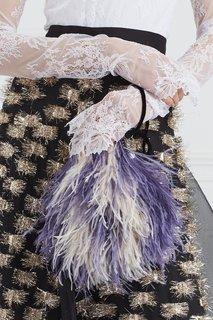 Клатч из перьев Baby Iris Esve