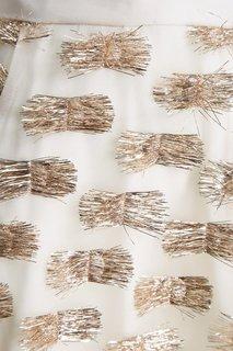 Юбка-макси из шелка с люрексом Esve