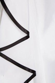 Платье с асимметричным воланом Korsun