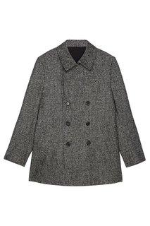 Двубортное шерстяное пальто Cesare Attolini