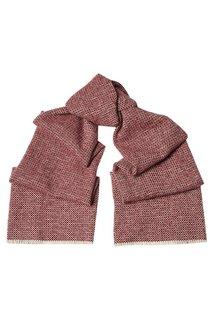 Кашемировый шарф красный Cesare Attolini