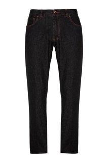 Укороченные джинсы коричневые Cesare Attolini