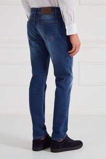 Укороченные джинсы голубые Cesare Attolini