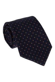 Фактурный галстук из шелка Cesare Attolini