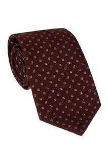 Фактурный шелковый галстук Cesare Attolini