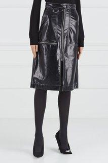 Лакированная юбка Mo&Co