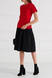 Юбка из текстурированной ткани Comme des Garcons Girl