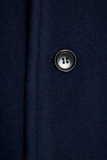 Синее пальто с капюшоном Comme des Garcons Girl