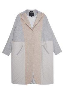 Однобортное пальто из шерсти Victoria Andreyanova