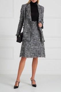 Фактурная юбка с бахромой Msgm