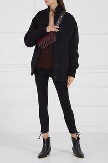 Трикотажные брюки-скинии T by Alexander Wang