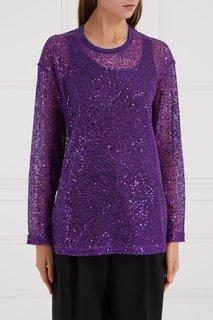 Джемпер из сетки фиолетовый Junya Watanabe
