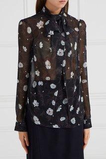 Блузка с принтом Carven