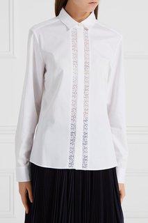 Блузка с отделкой Hugo Boss